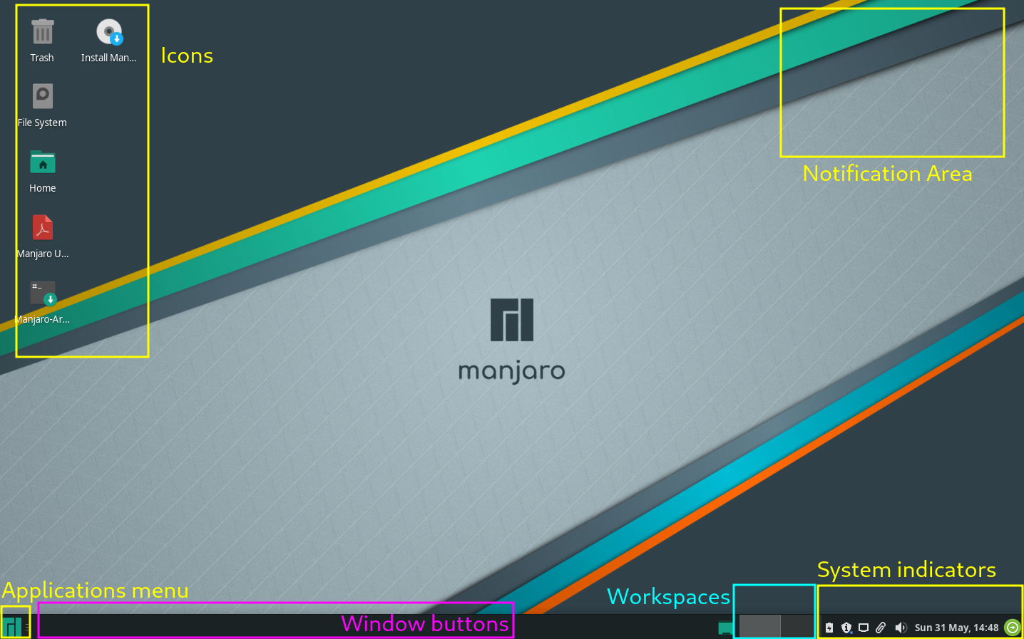 images/welcome-to-manjaro/manjaro-desktop.png