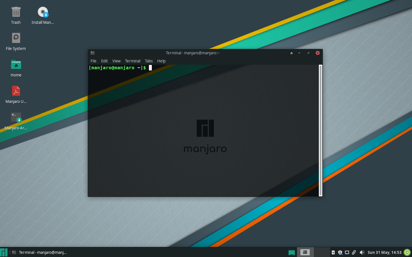 images/welcome-to-manjaro/terminal.png