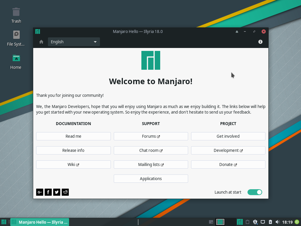 images/welcome-to-manjaro/welcome-installed.png