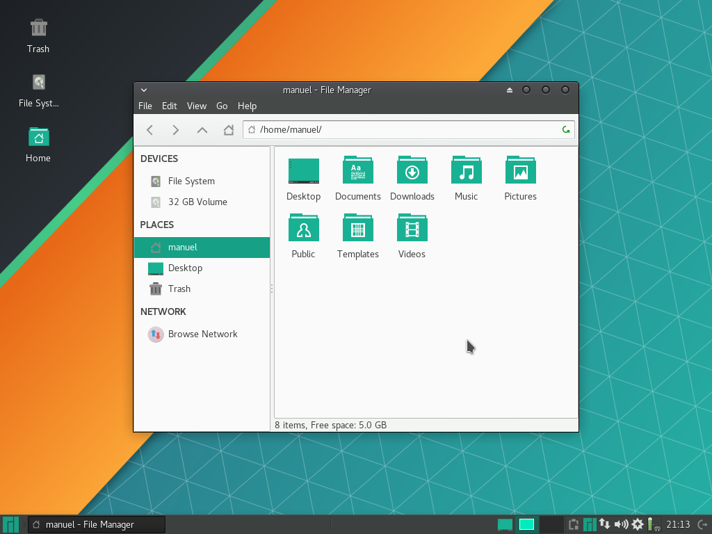 images/welcome-to-manjaro/file-manager.png