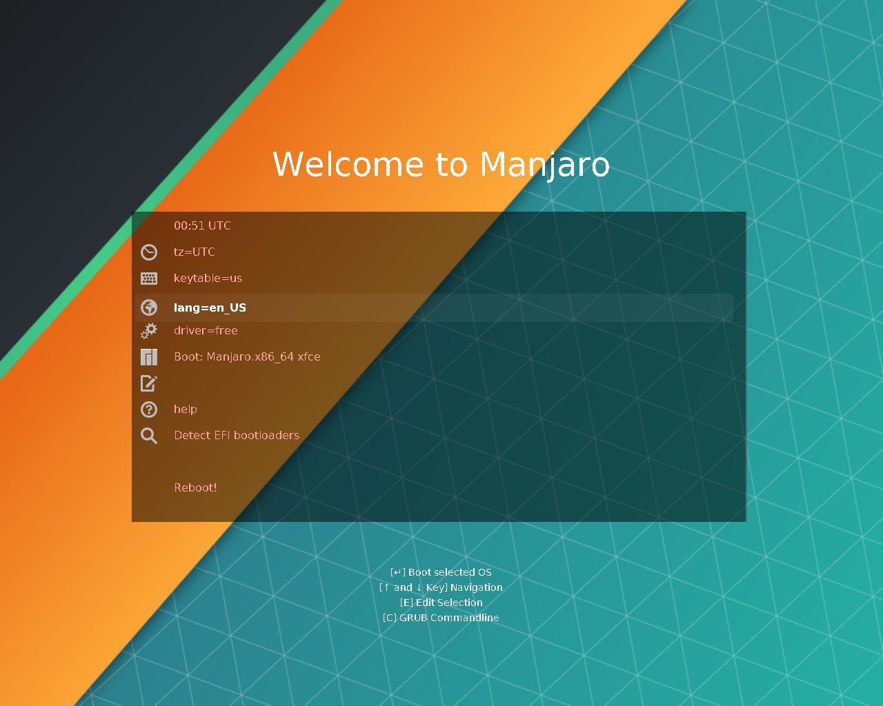 images/boot/UEFI-manjaro-menu.png